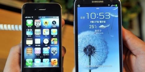 Apple - Samsung : la bataille des résultats financiers | Timothée Petit | Scoop.it