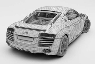 Audi R8 voiture 3D | 3D Library | Scoop.it
