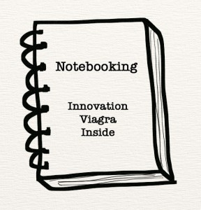Notebooking is Innovation Viagra   The Jazz of Innovation   Scoop.it