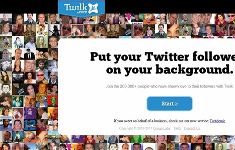 Twilk | Put your twitter followers on your background | KgTechnology | Scoop.it