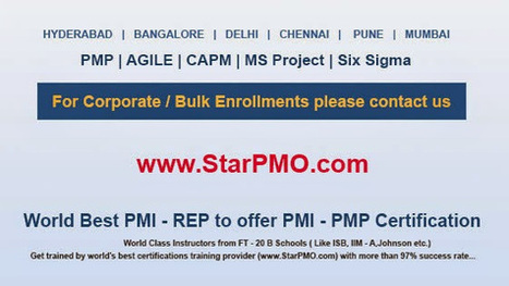 StarPMO PMP Certification & Training in Pune - Google+ | pmp training in pune | Scoop.it