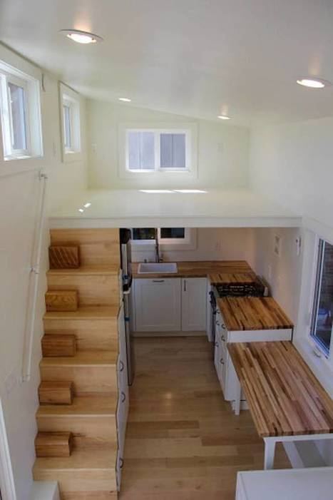 Modern tiny home boasts a big kitchen for foodies | Sustain Our Earth | Scoop.it