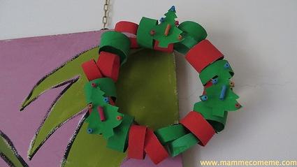 Mamme come me: Ghirlanda di Natale | Lavoretti | Scoop.it