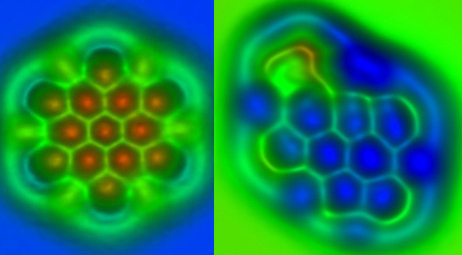 Atomic Bond Types Clearly Discernible Thanks to Single-Molecule Images | Slash's Science & Technology Scoop | Scoop.it