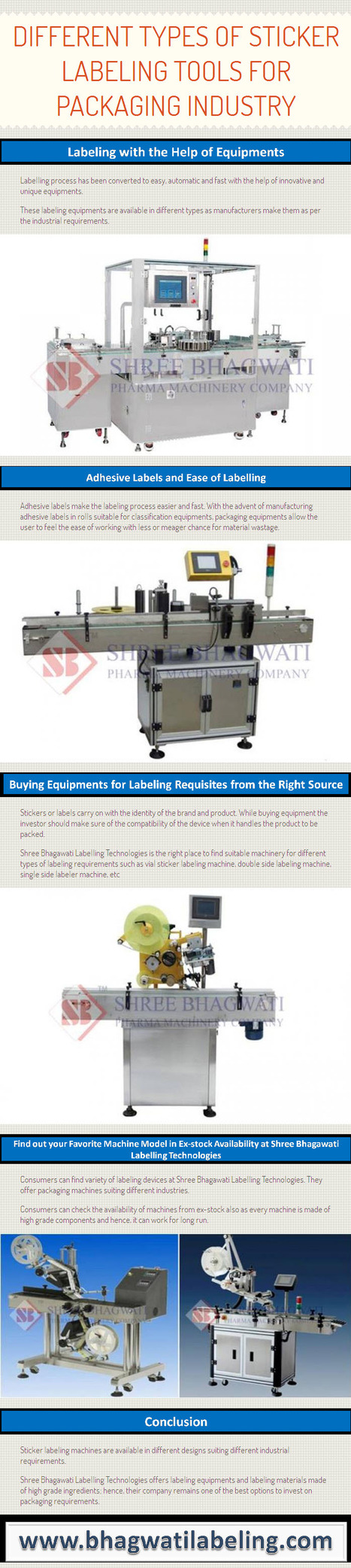 Different Types of Sticker Labeling Tools for Packaging Industry by www.bhagwatilabeling.com | bhagwatilabeling | Scoop.it