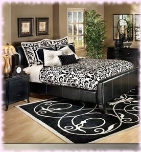 Choosing Black and White Bedroom Ideas Would Be Nice | All Kinds of Furniture | newfurnituresdesign.comm | Scoop.it