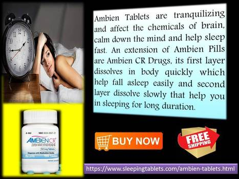 Improve sleep disorder with world-class Ambien Sleeping Tablets | Solution of Sleeping Disorder (Insomnia) | Scoop.it