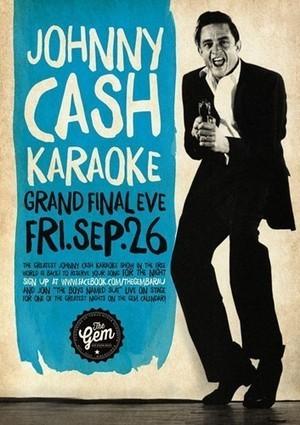 Johnny Cash Karaoke time at The Gem Bar in Melbourne pubs - Sticky Ticket | Looking for bar in melbourne? | Scoop.it