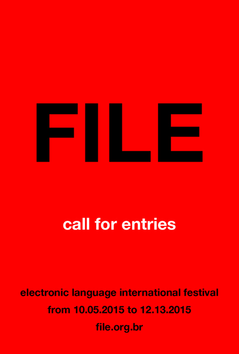 Call for entries | FILE: Electronic Language International Festival 2016 /// #mediaart | Digital #MediaArt(s) Numérique(s) | Scoop.it