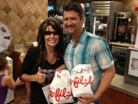 Sarah Palin Gives Thumbs Up To Anti-Gay Chick-fil-A | LGBT Times | Scoop.it