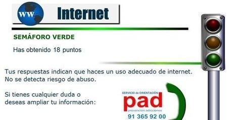¿Eres adicto a Internet y las nuevas tecnologías? Compruébalo con el test de Madrid Salud | Erika Guerrero | Scoop.it