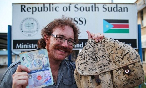 British man becomes first person to visit all 201 countries... without using a plane | Archivance - Miscellanées | Scoop.it