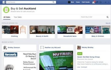 Facebook Testing Buy & Sell Button | MarketingHits | Scoop.it