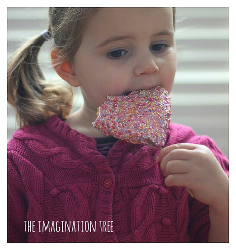 The Imagination Tree: How to Make Valentine's Cookie Pops | Trabalhos Manuais no Jardim de Infância | Scoop.it