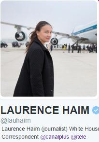 Laurence Haïm, l'intervieweuse d'Obama qui fait rire la twittosphère | DocPresseESJ | Scoop.it