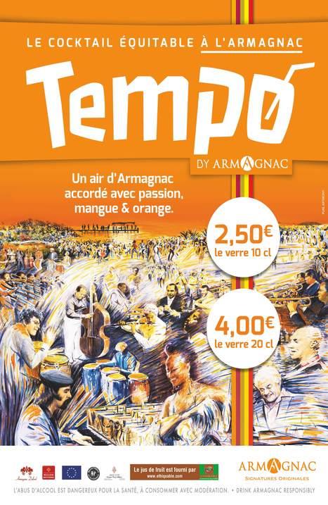 L'Armagnac lance un cocktail dédié pour les 20ans de Tempo Latino ! | Armagnac Cocktails Recipes | Scoop.it