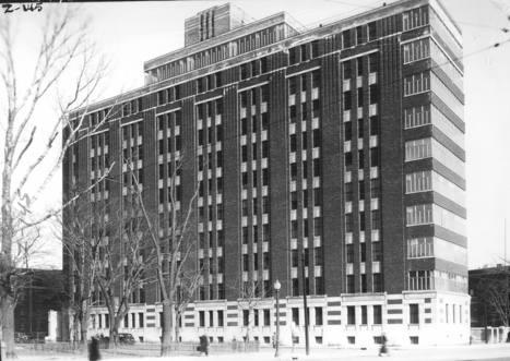 Hôpital Général de Montréal (2300, rue Tupper), le 26 mars 1936   Photos ancestrales de Montréal   Scoop.it