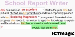 School Report Writing | ICTmagic | Scoop.it