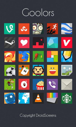 Goolors icons GO Apex Nova ADW v2.4.5 | ApkLife-Android Apps Games Themes | Android Applications And Games | Scoop.it