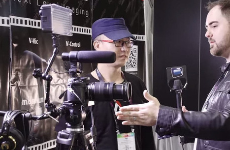 Aputure Smart Lens Adapter Controller - NAB 2014 from NextWaveDV | HDSLR | Scoop.it