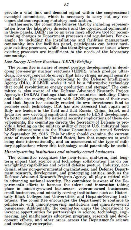 PRoAtom - Конгресс США внезапно заинтересовался холодным синтезом | LENR revolution in process, cold fusion | Scoop.it