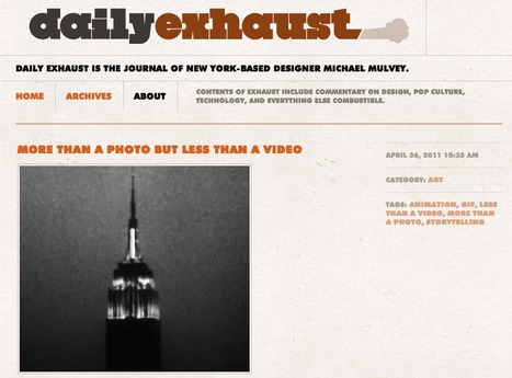 More than a photo but less than a video - Daily Exhaust - Michael Mulvey | Animated Gif As Art | Scoop.it