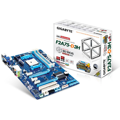 Gigabyte GA-F2A75-D3H - Motherboard | High-Tech news | Scoop.it
