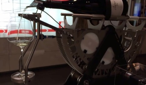 Automated Decanting Machine Pairs Wine With Pi | Raspberry Pi | Scoop.it