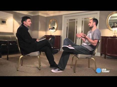 Video: Manu Ginobili on how he uses tech to approach the game - Project Spurs | NBA | Scoop.it