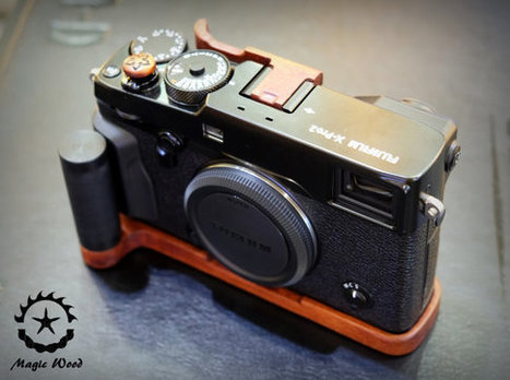Fuji Xpro2,Full set wood accessory camera,Wood Grip+Wood soft release+Wood Thumb up. | Fujifilm X Series APS C sensor camera | Scoop.it