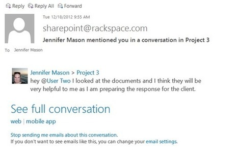 SharePoint 2013: Social Features Highlights | Enterprise Social Tools | Scoop.it