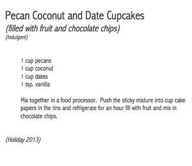 Pecan Coconut and Date Cupcakes | Best Fitness Challenge | Scoop.it