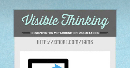 Visible Thinking | iPads in the Elementary Classroom | Scoop.it