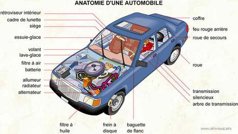 TICs en FLE: Connaissez le vocabulaire de l'automobile | Le journal du FLE des PUG | Scoop.it