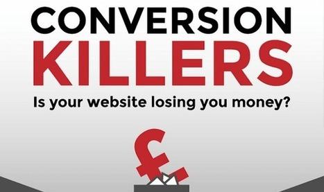 Conversion Killers - Is Your Website Losing You Money - Infographic Online | 911branding | Scoop.it