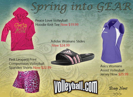 Volleyball.Com - volleyball equipment, shoes, clothes and rules for beach, indoor, pictures, camps, court products, net, nets and leagues. | VolleyBall326 | Scoop.it