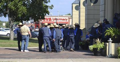 9 Amish men ordered jailed over buggy violation   Amish Theology 12   Scoop.it