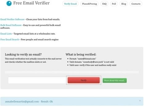 Services de vérification d'adresses email | Informatique | Scoop.it