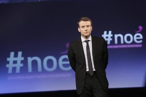 Numérique. Macron lance #Noé pour adapter l'économie | Veille économique | Scoop.it