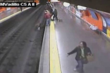 Vidéo : Elle frôle la mort dans le métro ! | Radio Planète-Eléa | Scoop.it