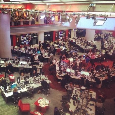 Live dans la newsroom de la BBC | Les médias face à leur destin | Scoop.it