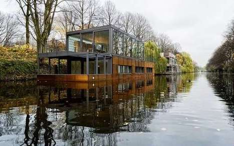 Canal Floating Abodes | Homes and Houses | Scoop.it