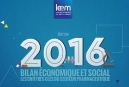 Le bilan 2015 des entreprises du médicament en France - LEEM   Biotech, Pharmas and ideas   Scoop.it
