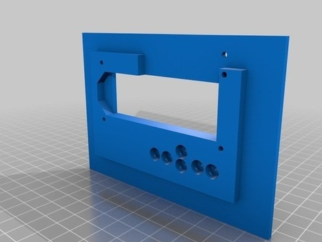 LCD Keypad Shield for Arduino - Laser Panel by JeanClaude ... | Raspberry Pi | Scoop.it