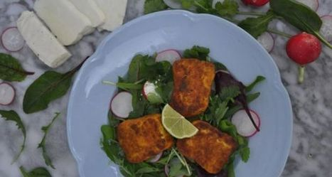 Give Me Five: Spiced halloumi salad | My Vegan recipes | Scoop.it