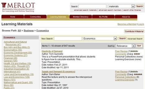 Learning Materials in Economics & Statistics | Business and Economics: E-Learning and Blended Learning | Scoop.it