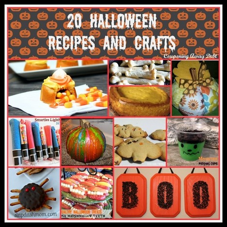 20 Halloween Recipes and Crafts - Couponing Away Debt | Culinary Art | Scoop.it