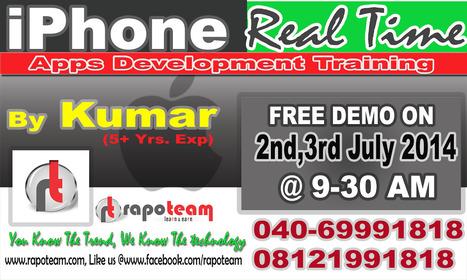 Rapoteam -Job Oriented IPhone training and iOS  application development training | RapoTeam (Mobile Application Development Training Team), | Scoop.it