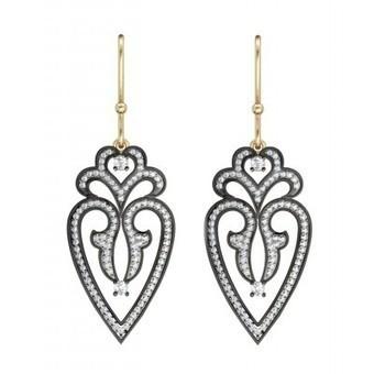 Graceful Victorian Earrings Online - Jewelslane | Diamond Jewellery India | Scoop.it
