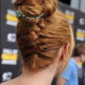 Tuto coiffure : un chignon tressé inversé à l'allure néo-romantique - Get The Look   Coiffure et manucure   Scoop.it